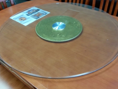 glass turn table b#
