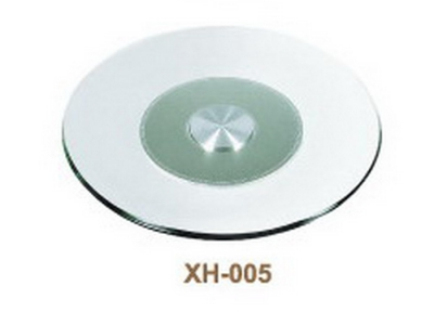 rotatable glass round plate XH-005#