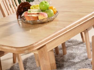 908#款 可伸缩方形餐桌