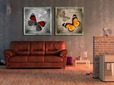 "decorative picture ""butterfly"""