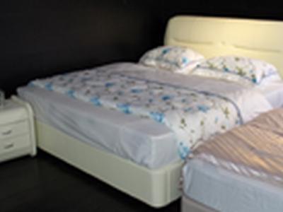 皮制软床 #8525