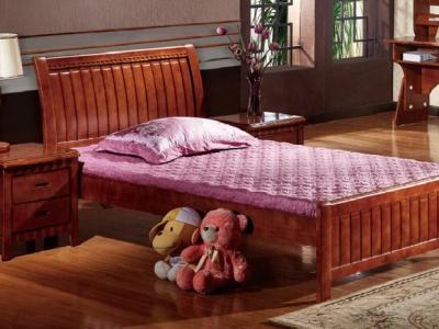 Hard wood bed M139#