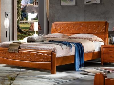实木床bed_M8803#