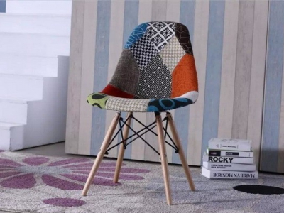 fabric easy chair