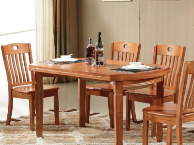 foldable rounded dining table