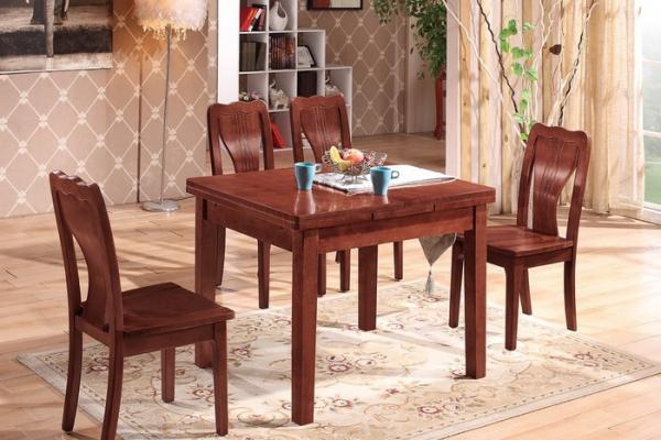 可伸缩方形餐桌 T268#